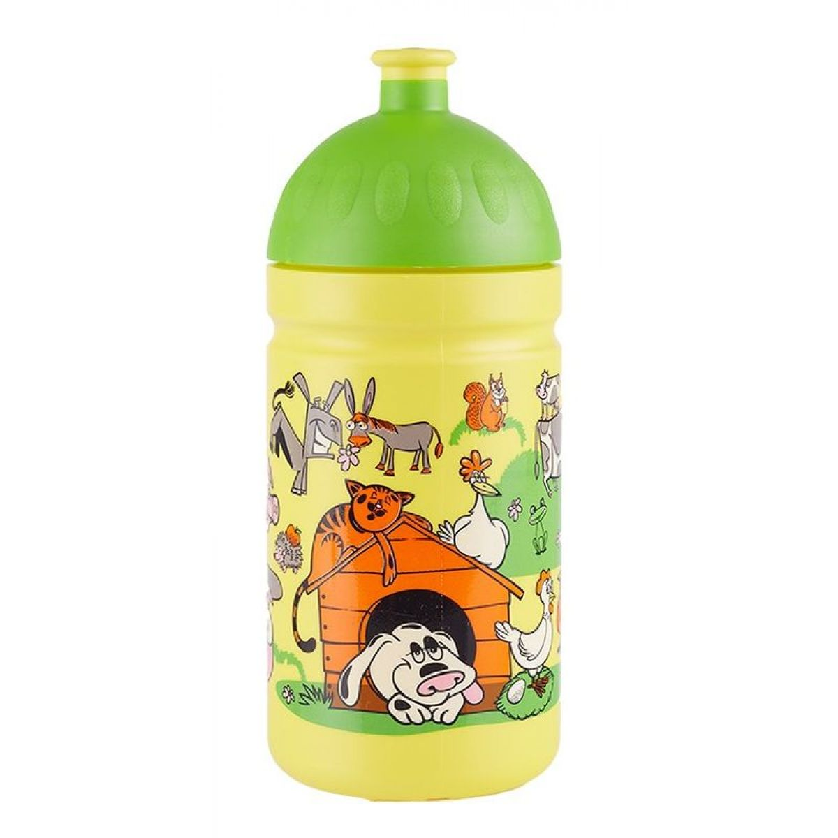 Zdravá lahev Veselý dvorek 500ml