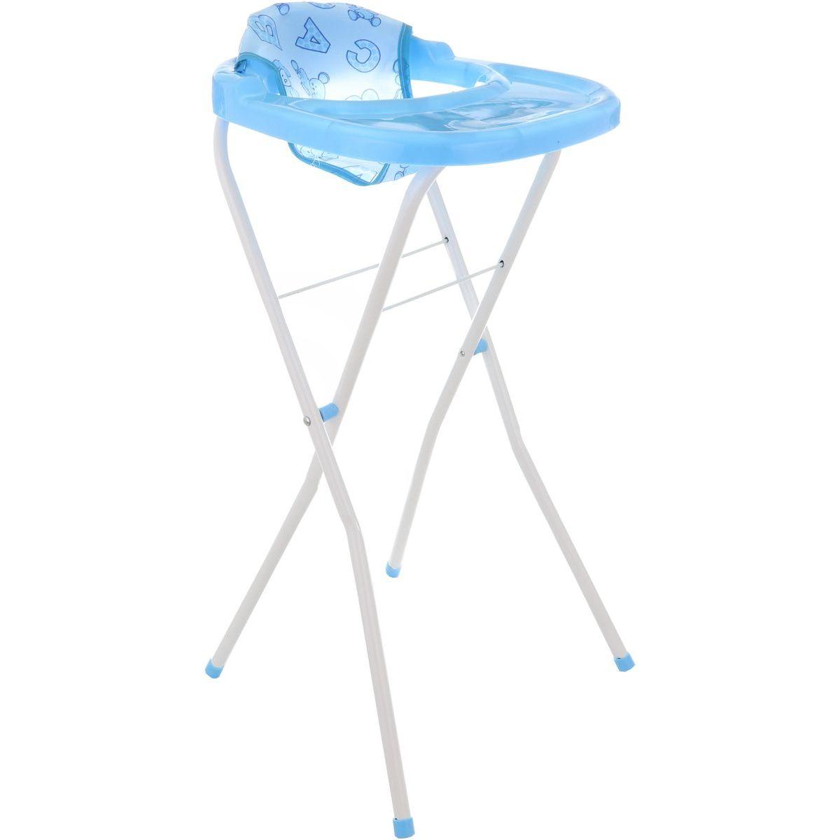 Stolička pre bábiku modrá