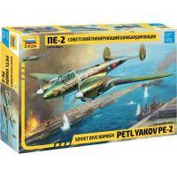 Zvezda Model Kit lietadlo 7283 Petlyakov Pe-2 1:72