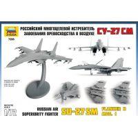 Zvezda Model Kit lietadlo 7297 Sukhoi SU-33 Flanker D 1:72 3