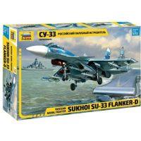 Zvezda Model Kit lietadlo 7297 Sukhoi SU-33 Flanker D 1:72