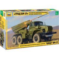 Zvezda Model Kit military 3655 BM-21 Grad Rocket Launcher 1:35
