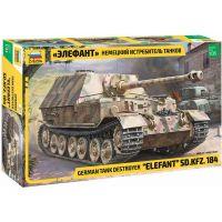 Zvezda Model Kit military 3659 Elefant Sd.Kfz.184 1:35