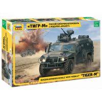 Zvezda Model Kit military 3683 GAZ Tiger w Arbalet 1:35