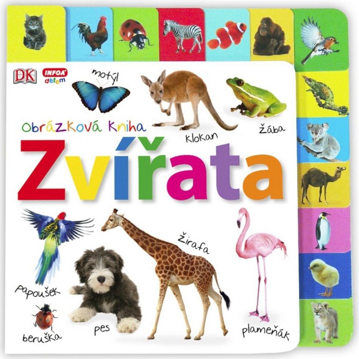 Zvieratá Obrázková kniha