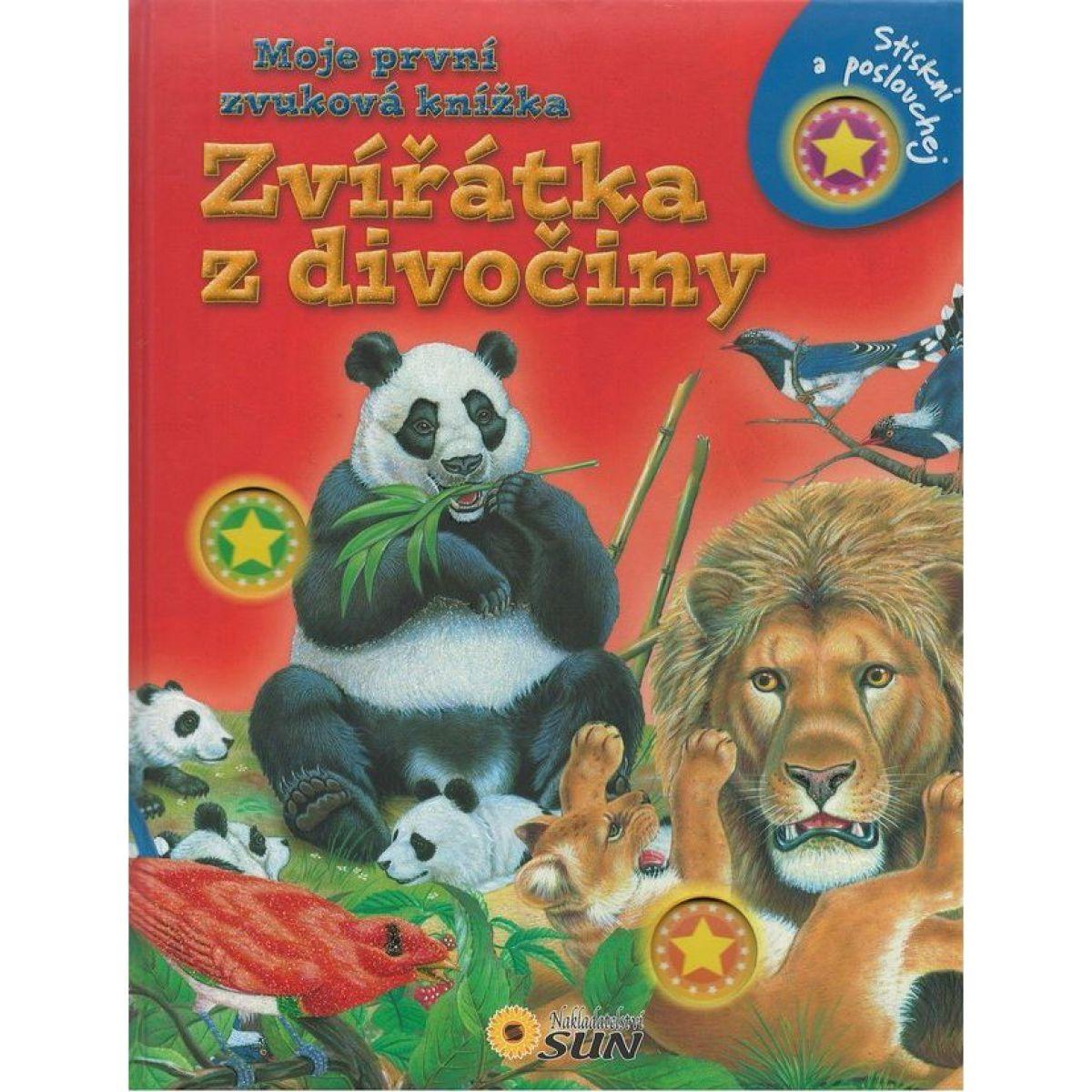 Zvieratká z divočiny moja prvá zvuková kniha